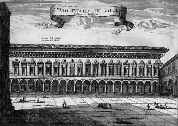 18th Century Digital Art - Bologna University by Hulton Archive
