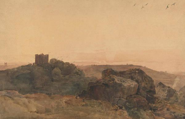 Bolton Wall Art - Drawing - Bolton Castle by Peter De Wint