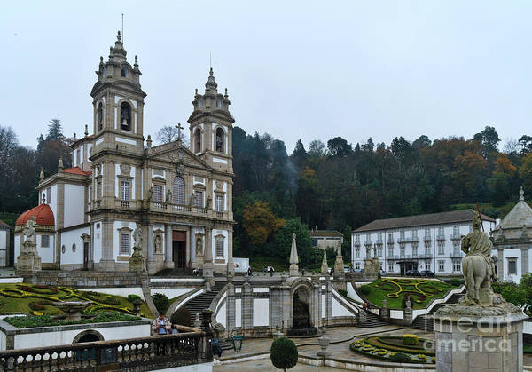 Photograph - Bom Jesus Do Monte In Braga by Angelo DeVal