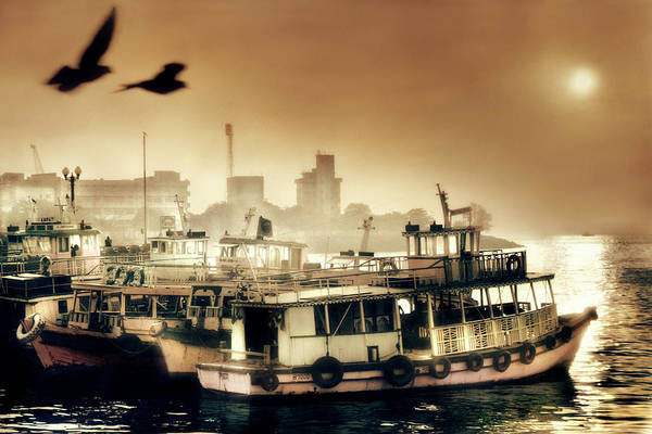 Wall Art - Photograph - Bombay Boats by Kirsty Mclaren