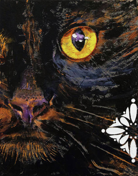 Wall Art - Painting - Bombay Cat by Michael Creese