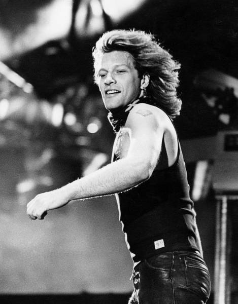 Photograph - Bon Jovi Perform At Milton Keynes by Martyn Goodacre