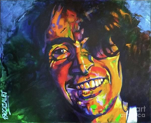 Bon Scott Painting - Bon Scott by Christian CAZALET