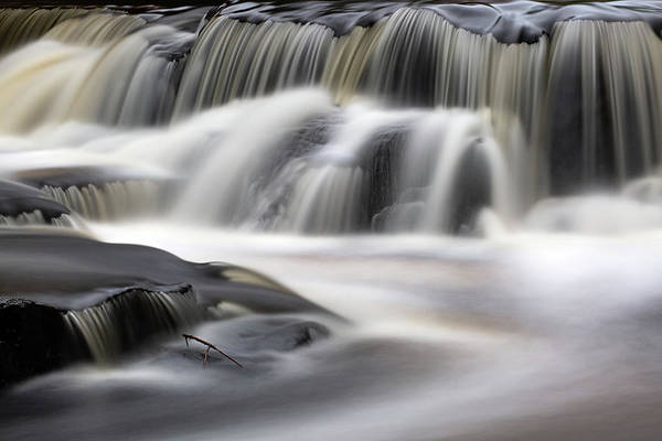 Wall Art - Photograph - Bond Falls 10 by Heather Kenward