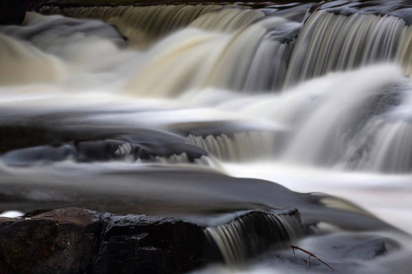 Wall Art - Photograph - Bond Falls 13 by Heather Kenward