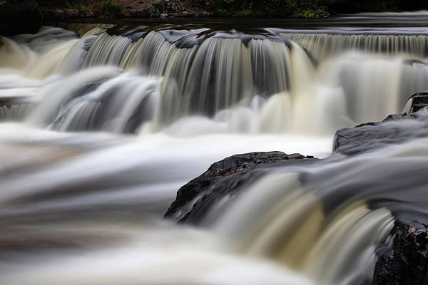 Wall Art - Photograph - Bond Falls 15 by Heather Kenward