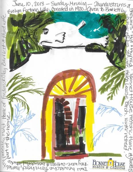 Wall Art - Painting - Bonnet House by Susan Elizabeth Jones