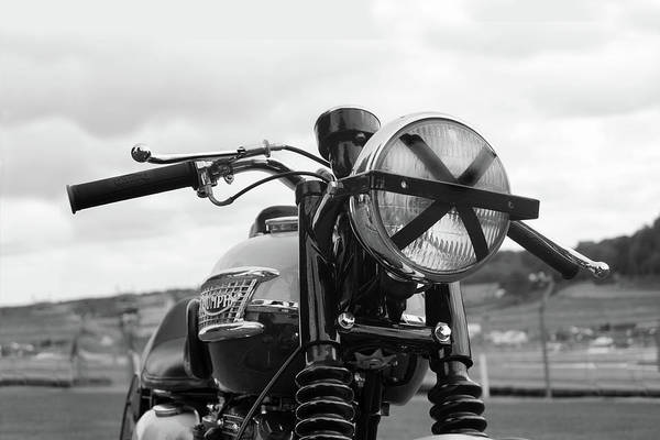 Photograph - Bonneville T120 Thruxton Motorcycle by Mark Rogan