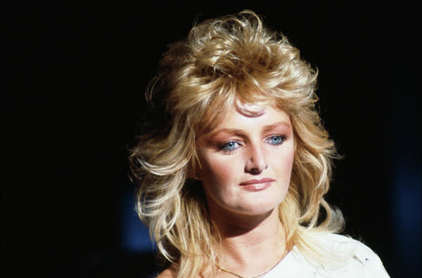 Photograph - Bonnie Tyler In Montreux by David Redfern