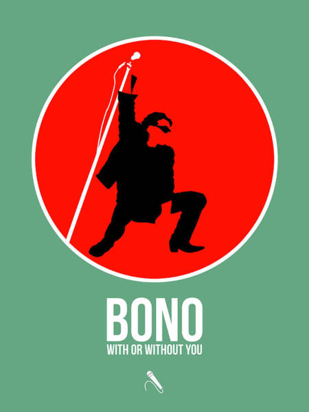 Wall Art - Digital Art - Bono by Naxart Studio