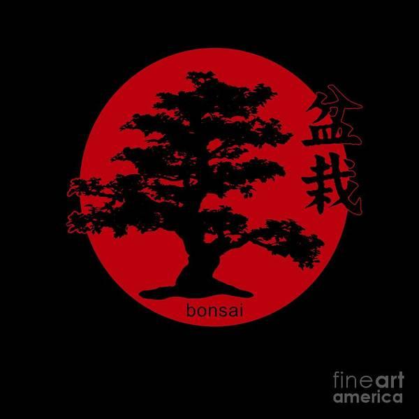 Bonsai Tree Digital Art - Bonsai by Valentina Hramov