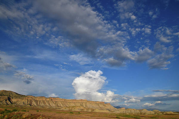Photograph - Book Cliffs Clouds by Ray Mathis
