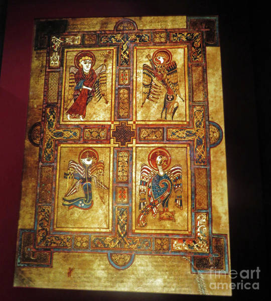 Photograph - Book Of Kells by Cindy Murphy