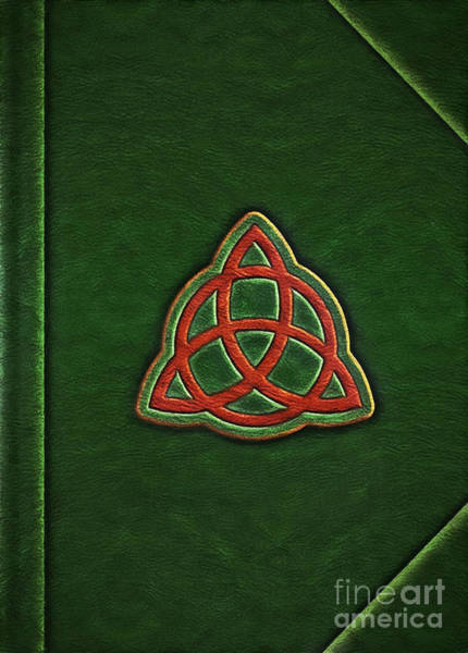 Phoebe Digital Art - Book Of Shadows Cover by The Halliwell Ones