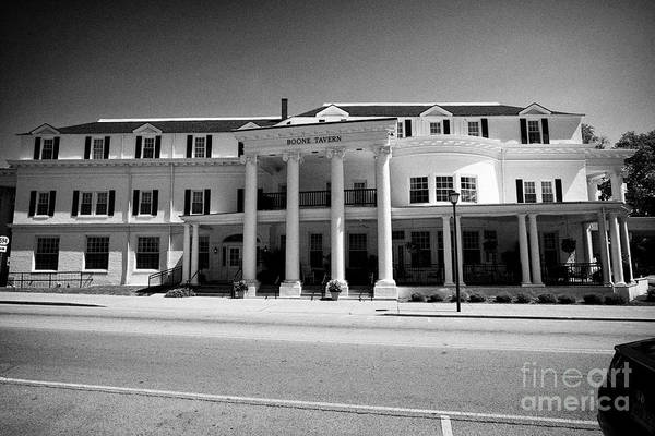 Wall Art - Photograph - Boone Tavern Restaurant Hotel And Guesthouse Associated With Berea College Berea Kentucky Usa by Joe Fox