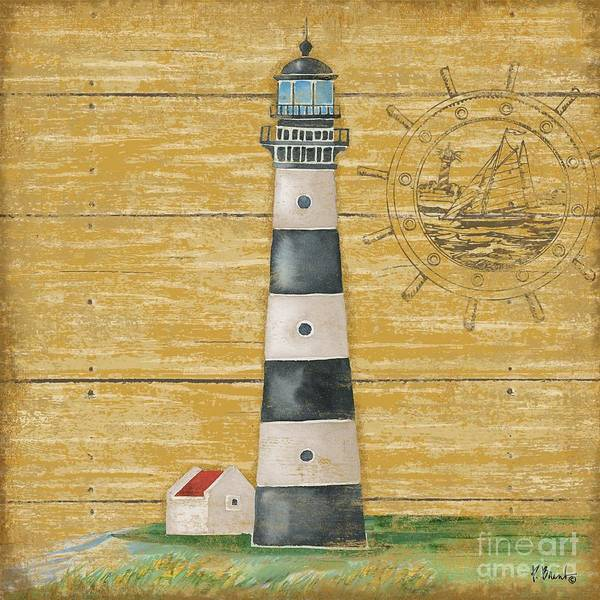 Wall Art - Painting - Boothbay Lighthouse II by Paul Brent