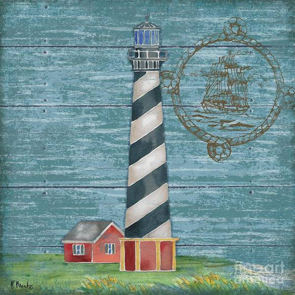 Wall Art - Painting - Boothbay Lighthouse Iv by Paul Brent