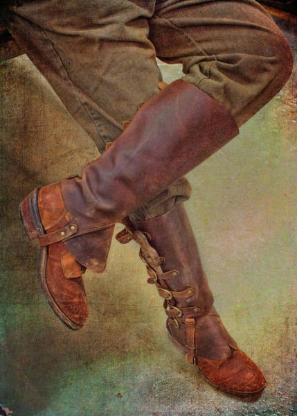 Cosplay Photograph - Boots And Gaiters by Nikolyn McDonald