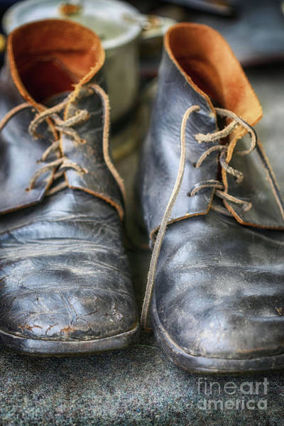 Photograph - Boots Of Company H by Natural Abstract Photography
