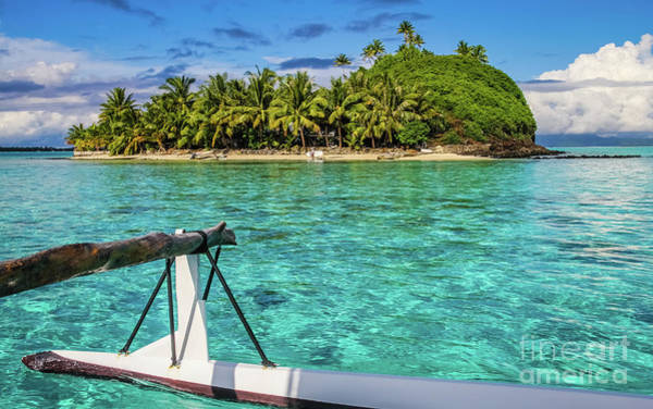Photograph - Bora Bora Lagoon by Lyl Dil Creations