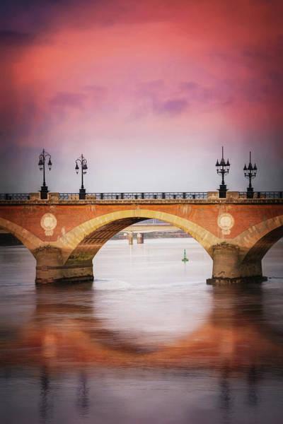 Wall Art - Photograph - Bordeaux France Pont De Pierre by Carol Japp