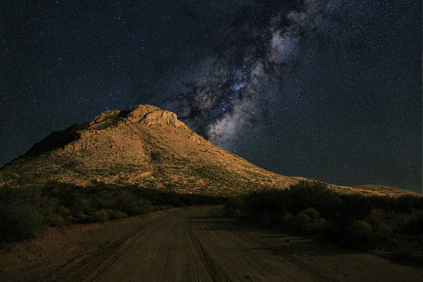 Photograph - Border Town Nights by JC Findley