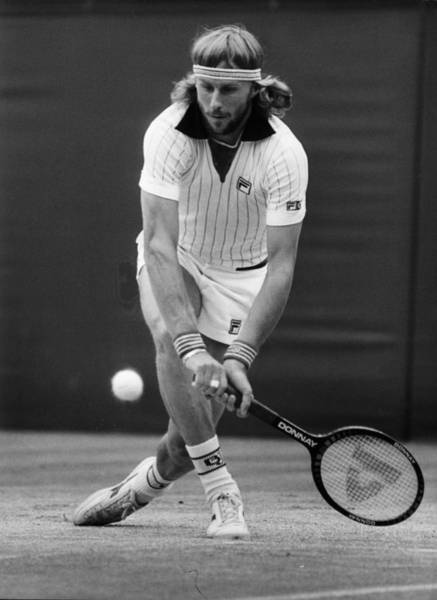 Sports Clothing Photograph - Borg Loses by Rob Taggart