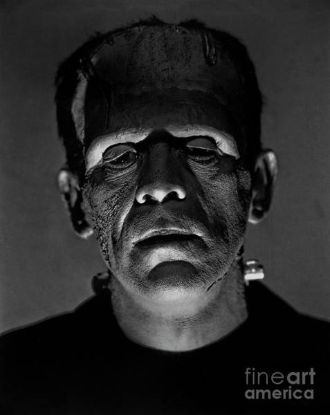 Photograph - Boris Karloff As Frankenstein  by Doc Braham