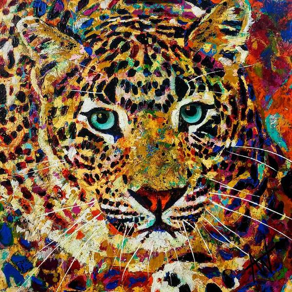 Wall Art - Painting - Born This Way by Angie Wright