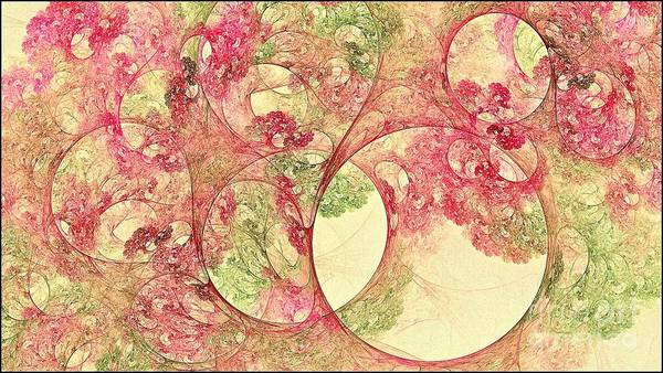 Digital Art - Boreal Canopy Flowered Fjornak by Doug Morgan