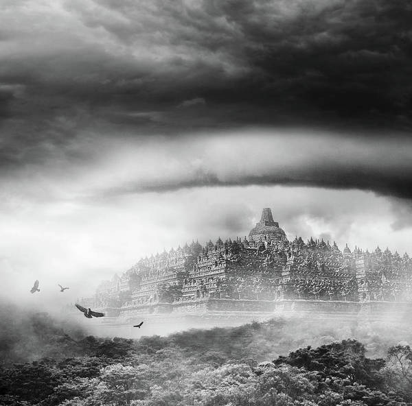Indonesian Culture Photograph - Borobudur Temple by Rizky Dp