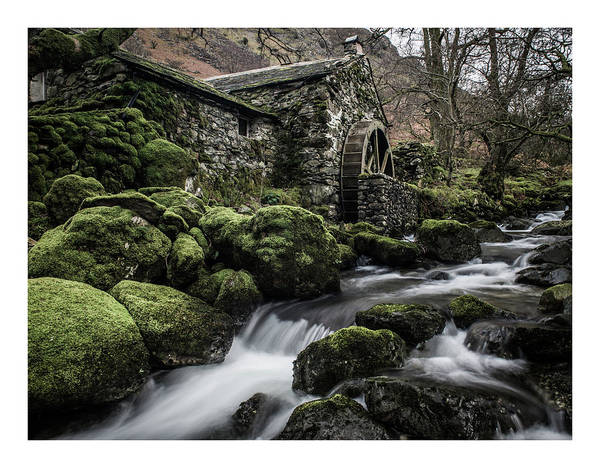 District Wall Art - Photograph - Borrowdale Mill  by Mark Mc neill