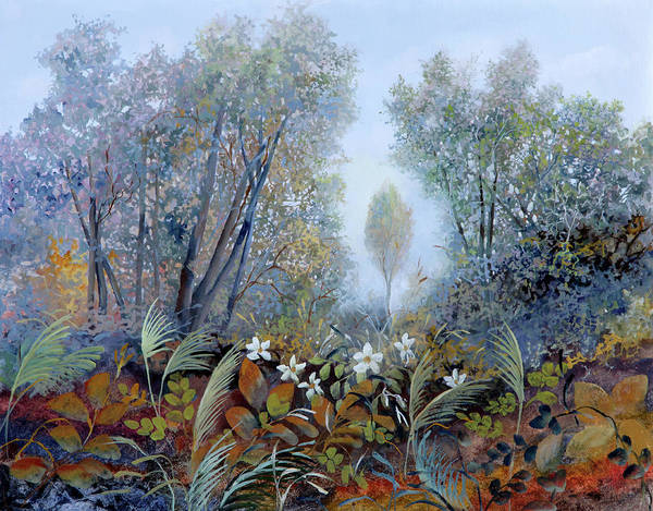 Wall Art - Painting - Bosco Allegro by Guido Borelli