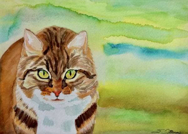 Painting - Boss Cat by Sonja Jones