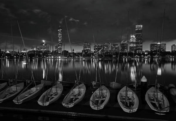 Photograph - Boston Black Night by Juergen Roth