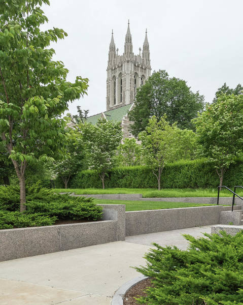Chestnut Hill Photograph - Boston College In Chestnut Hill by Panoramic Images