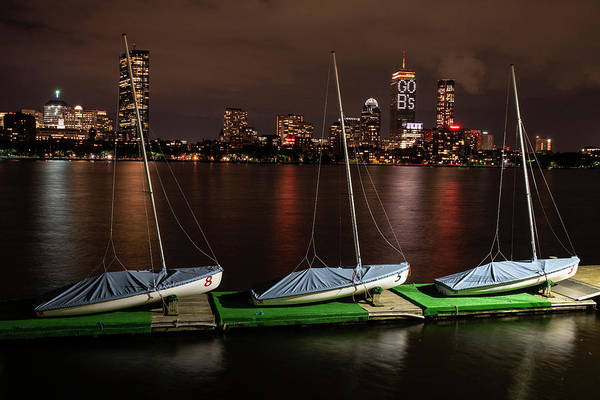Photograph - Boston Go Bs Boathouse Boston Ma Prudential by Toby McGuire