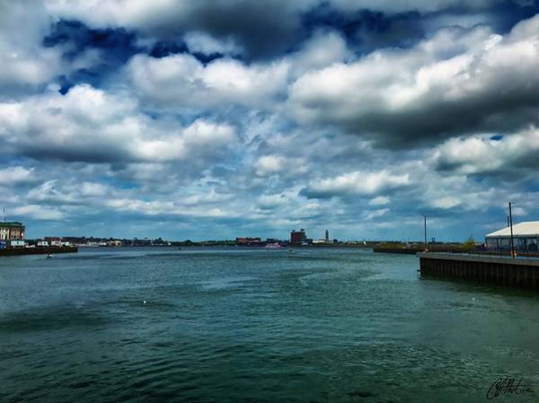 Photograph - Boston Harbor by Chris Montcalmo
