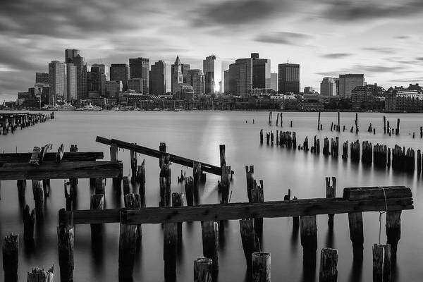 Photograph - Boston Harbor Waterfront by Juergen Roth