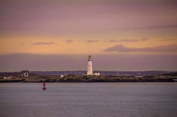 Photograph - Boston Light - Boston Harbor by Bill Cannon