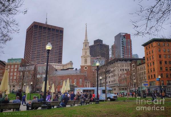 Photograph - Boston, Massachusetts  by Mary Capriole