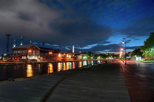 Photograph - Boston Navy Yard - Constitution Marina by Joann Vitali