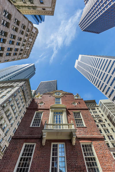 Wall Art - Photograph - Boston Old State House by Melanie Viola
