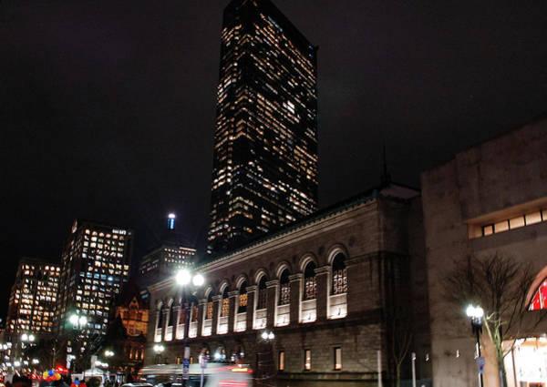 Photograph - Boston Public Library by Christina Maiorano