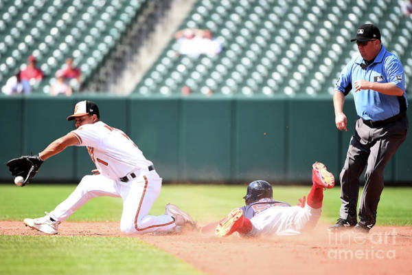Wall Art - Photograph - Boston Red Sox V Baltimore Orioles by Will Newton
