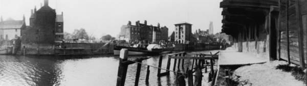 Wall Art - Photograph - Boston Riverside by Alfred Hind Robinson