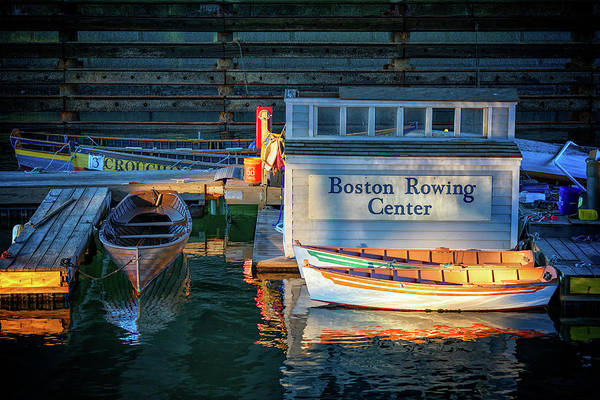 Photograph - Boston Rowing Center by Rick Berk