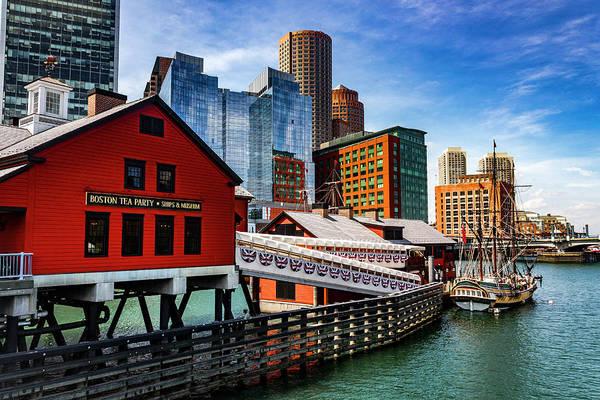 Photograph - Boston Series 4876 by Carlos Diaz