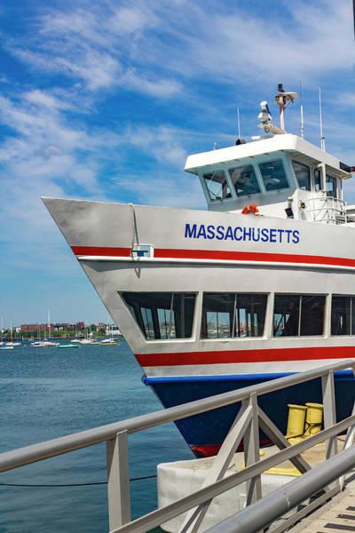 Photograph - Boston Harbor Series 4920 by Carlos Diaz