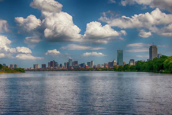 Photograph - Boston Skyline From Cambridge by Joann Vitali